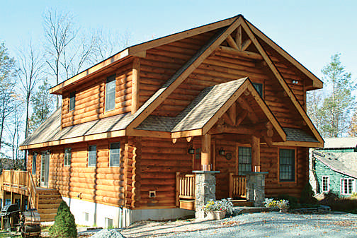A Log Cabin Dream in the Poconos