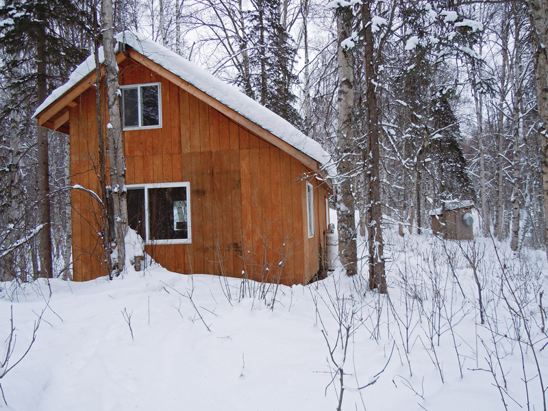 Off grid cabin in alaska for Alaska cottage