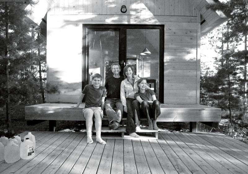 Paulsen-Cabin_family