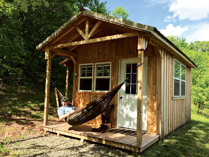Off-Grid in the Catskills