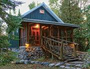 Timber-frame dream cabin