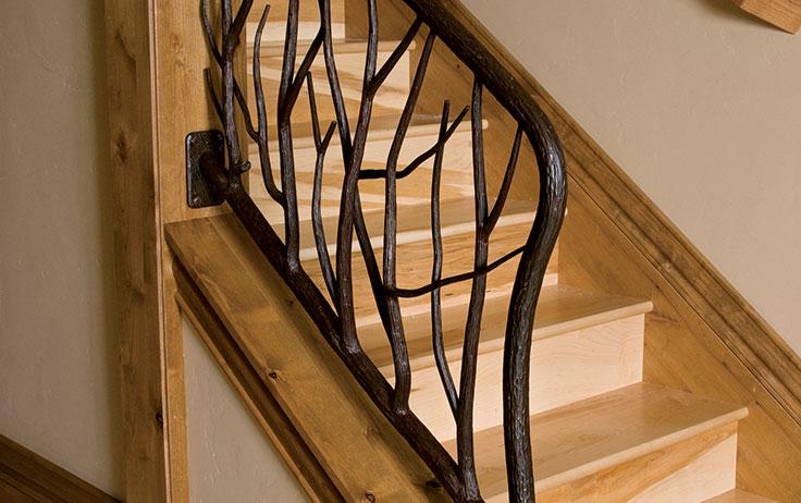 elements metal stair balusters