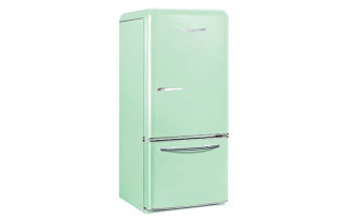 Vintage fridge Elmira-Stove-Works-Northstar-Model-1950---Mint-Green