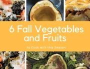 Fall Vegetables and Fruits