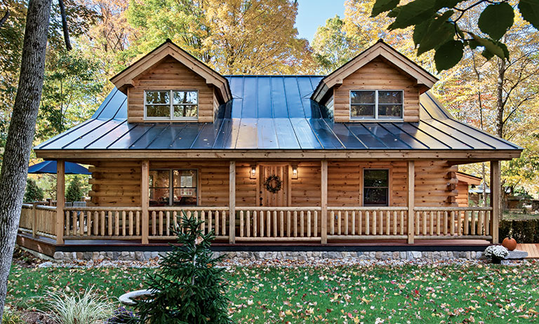 New Hampshire Log Cabin