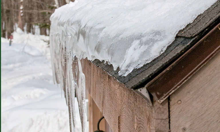 How To Prevent Ice Dams Cabin Living