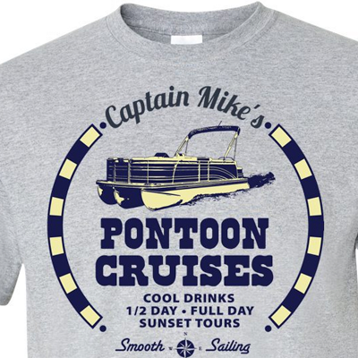 Personalized Pontoon Tours Shirt