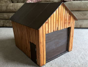 The Miniature Pole Barn Brought by Santa